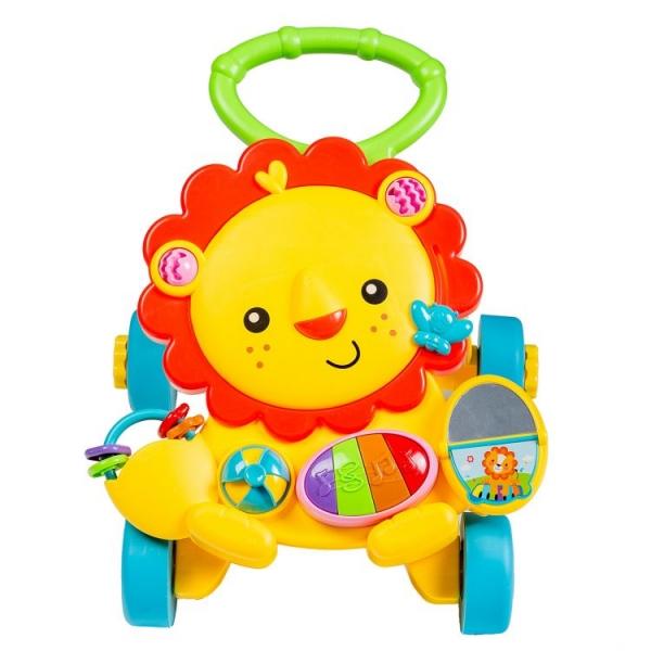 Detské interaktívne chodítko ECO TOYS - žlté
