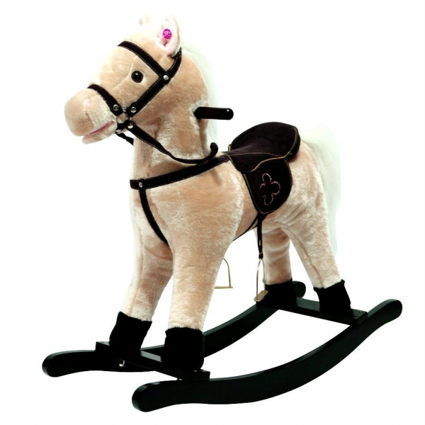 Hojdací koník Galopek - béžový