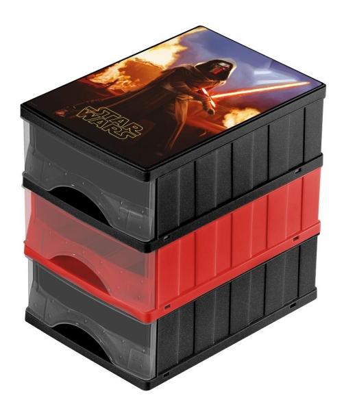 Boxy na hračky - zásuvky Star Wars