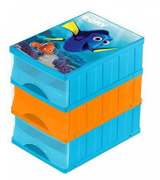 Boxy na hračky - zásuvky Hľadá sa Dory
