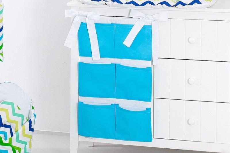Mamo Tato Vreckár 40 x 65 cm. Modrý