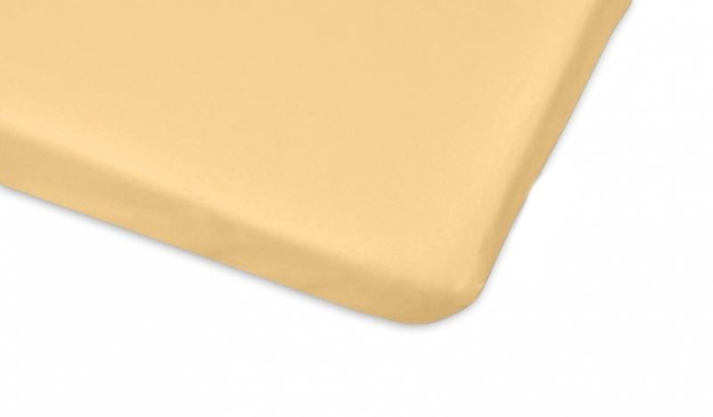 Mamo Tato Bavlnené prestieradlo  - žltá