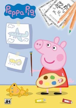Omalovánka Peppa Pig