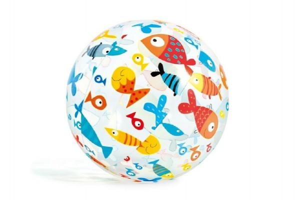 Lopta nafukovacie Morský svet priem. 51cm asst 3 druhy v sáčku
