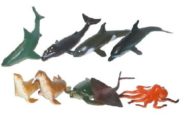 Rappa Zvieratá morská, 9 ks v sáčku