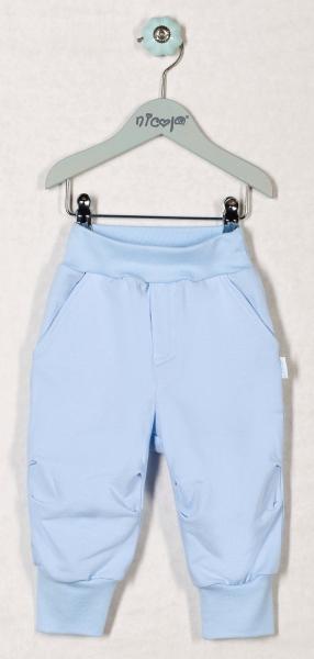 Tepláčky, nohavice OCEÁN - sv. modré, roz. 74