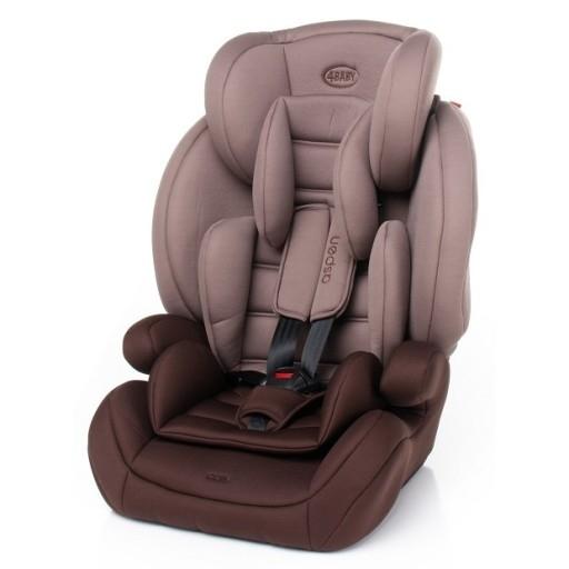 Autosedačka 4 BABY ASPEN - 9-36 - hnedá