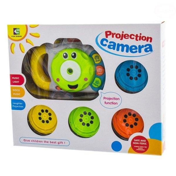 Euro Baby Edukačná hračka Fotoaparát so zvukom a svetlom