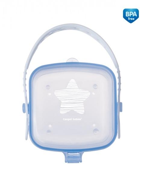 Canpol babies Puzdro na cumlík hviezdička - modré