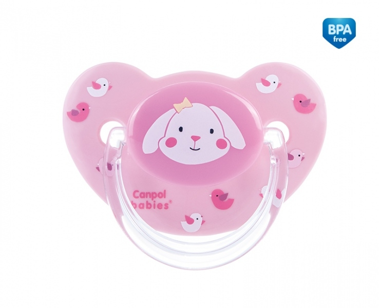 Cumlík Sweet Fun 6-18m B - ružový