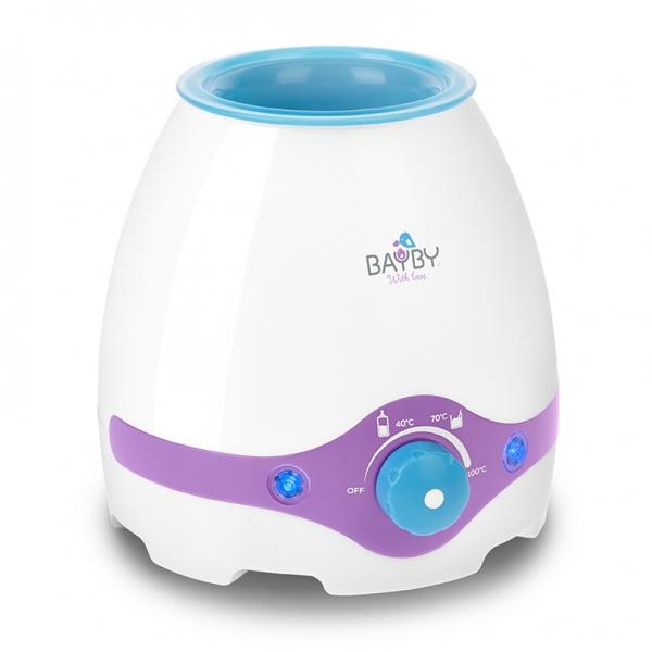 Multifunkčný ohrievač dojčenských fliaš a sterilizátor 3 v 1