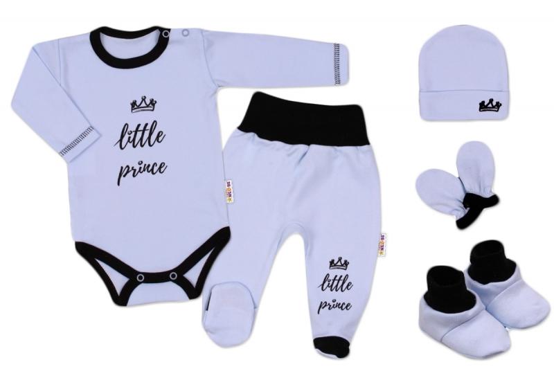 Baby Nellys Súpravička do pôrodnice Princ - modrá-#Velikost koj. oblečení;62 (2-3m)