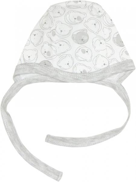 Novorodenecká čiapočka Veselí medvedíky, roz. 62