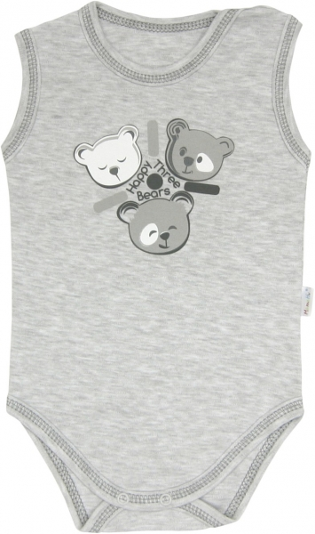 Body Veselí medvedíky - na ramienka, roz. 98-98 (24-36m)