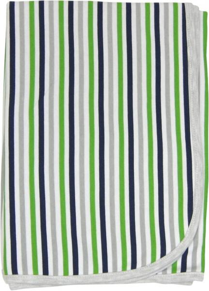 Detská deka, dečka Medvedík prúžok 80x90 - bavlna
