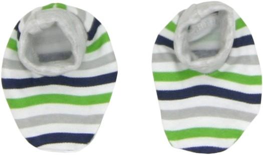 Mamatti Dojčenské topánočky / ponožtičky Medvedík prúžok