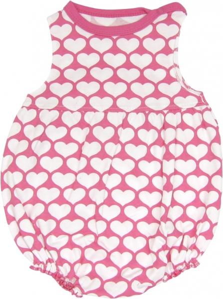 Body s nohavičkami Mačka Srdiečko- na ramienka, roz. 80