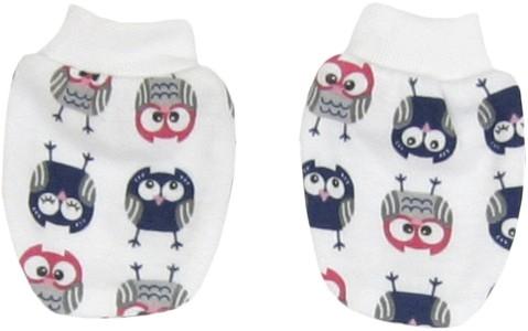 Dojčenské rukavičky Sovy