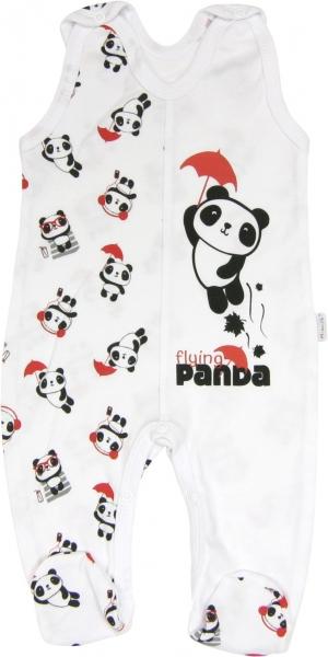 Dojčenské bavlnené dupačky Panda, roz. 80-80 (9-12m)