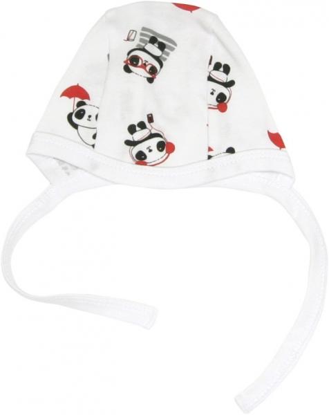 Mamatti Novorodenecká čiapočka Panda, roz. 62