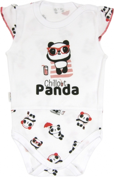 Mamatti Body Panda - na ramienka, roz. 92-92 (18-24m)