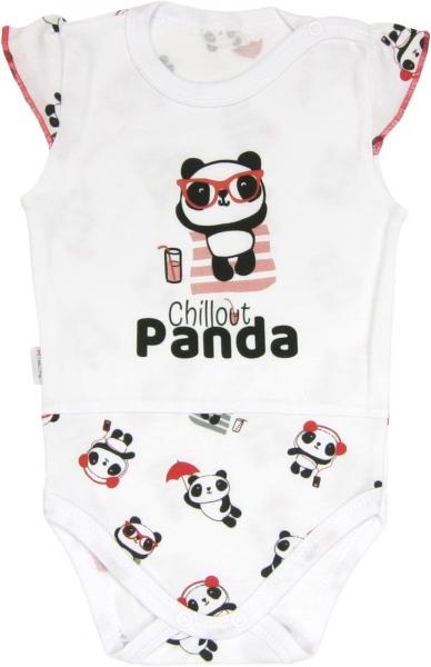 Mamatti Body Panda - na ramienka, roz. 98-98 (24-36m)