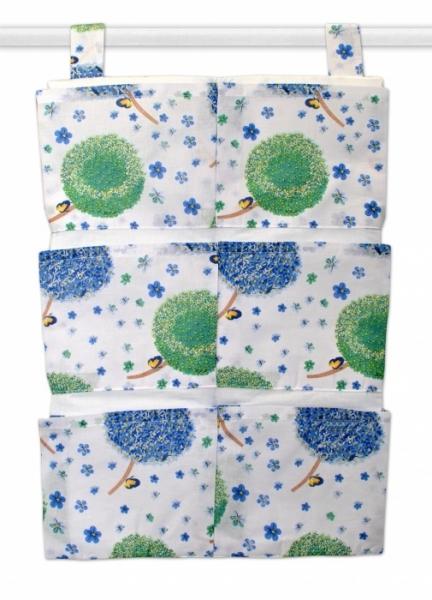 Mamo Tato Vreckár 40 x 65 cm - Púpavy modré