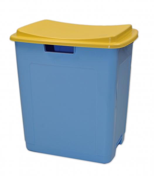 PRIMA BABY Plastový úložný box na hračky TOY&SIT - modrý