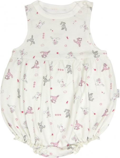 Mamatti Body s nohavičkami Zajačik - na ramienka, roz. 74