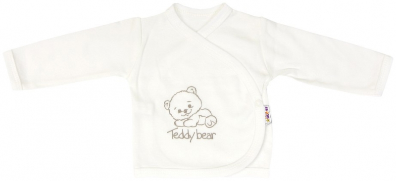 Baby Nellys Košieľka pre predčasne narodené deti Baby Teddy - zapínanie bokom, roz. 62-62 (2-3m)
