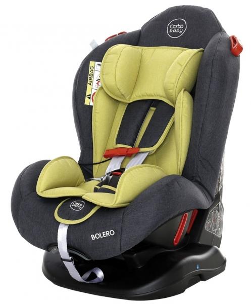 Coto Baby Autosedačka BOLERO - 0-25 kg - 2019 Farba: Zelená / Sivá