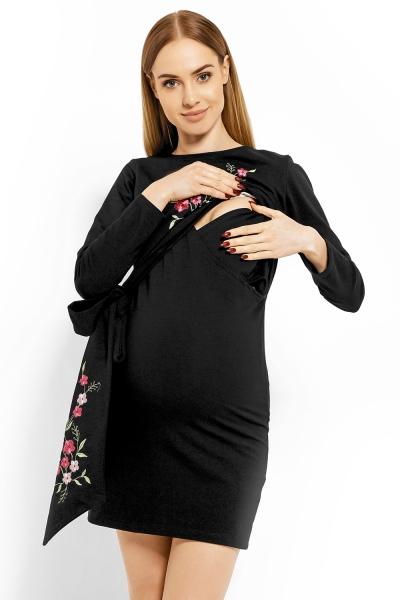 04af98bea0d6 Be MaaMaa Elegantné tehotenské šaty