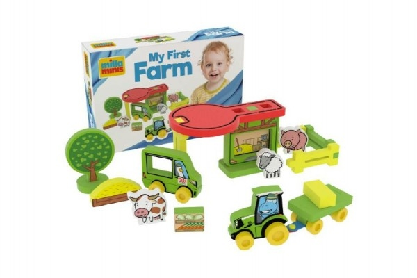 Teddies Moja prvá farma pena 25ks v krabici 30x20x7cm 0+
