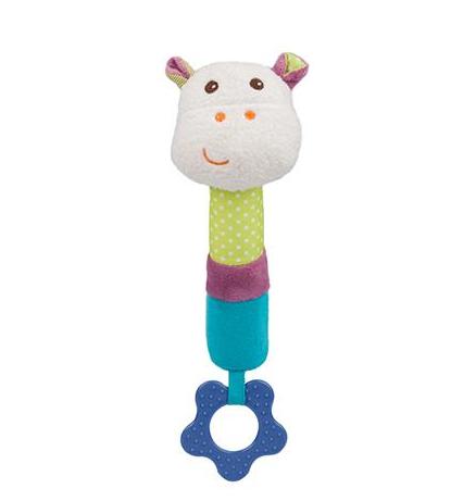 BabyOno Edukačná hračka pískacia s hryzátkom - Mickey
