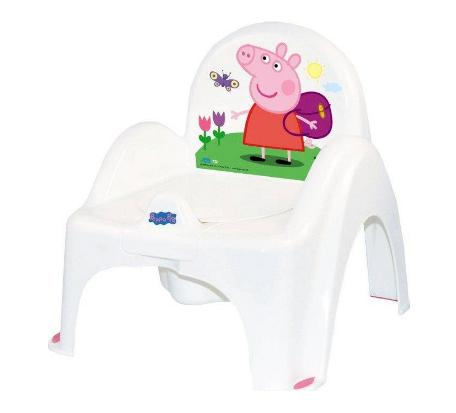 Nočník /stolička Prasiatko Peppa - biely
