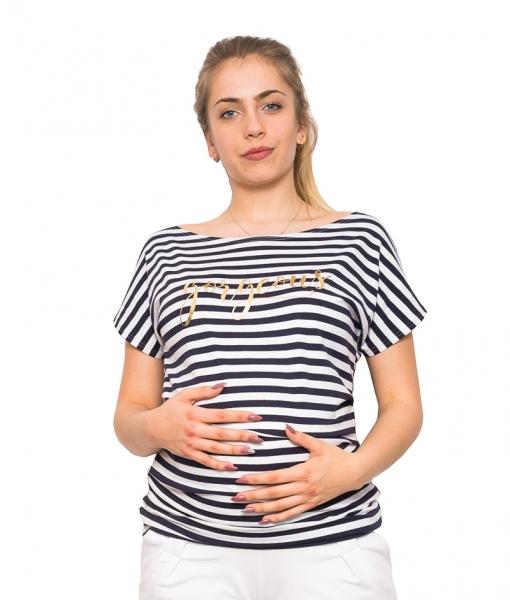 Be MaaMaa Tehotenské tričko / blúzka Gorgeous, vel. XL