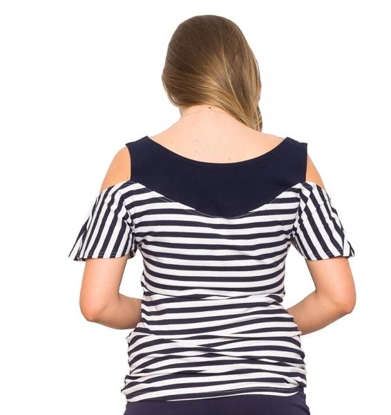 Tehotenské tričko Lila