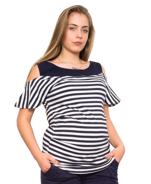 Be MaaMaa Tehotenské tričko / blúzka Lila, vel. XL