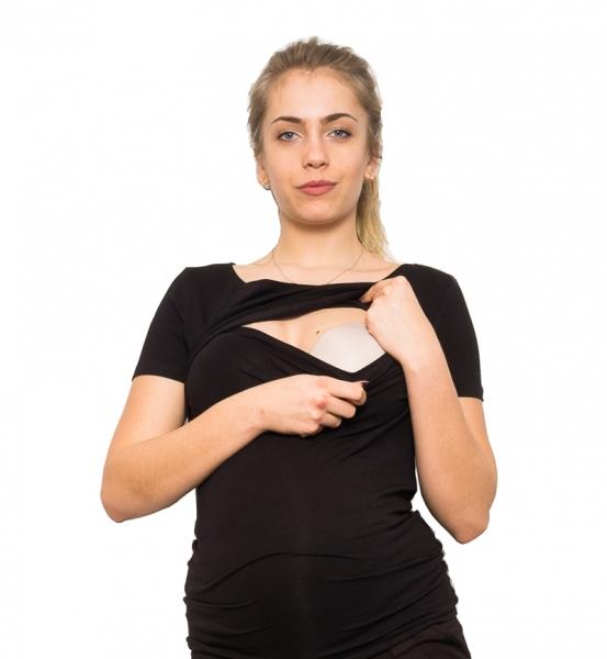 Tehotenské a dojčiace tričko - Mom Power