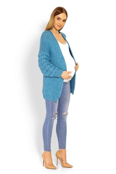 Moderný kardiganový svetrík Bomber - jeans