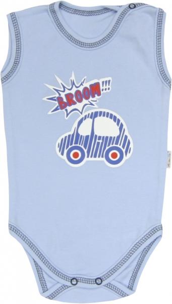 Mamatti Body Veselé autíčko - na ramienka, 92-92 (18-24m)