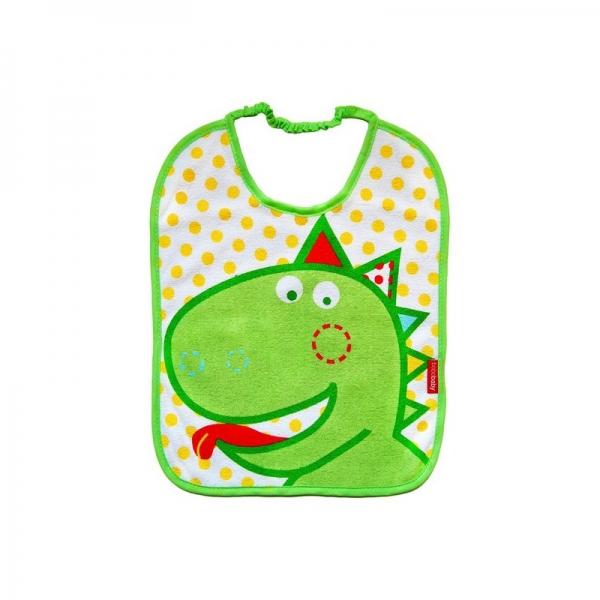 Dvojvrstvový froté podbradník - Dino