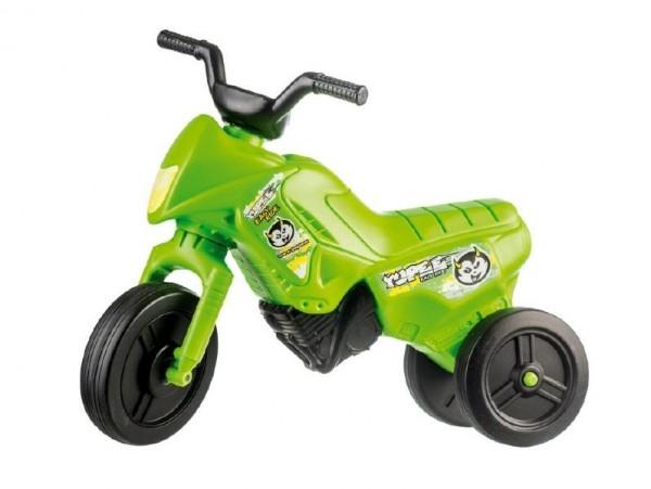 Odrážadlo Enduro Yupee zelené malé plast výška sedadla 26cm nosnosť do 25kg od 12 mesiacov