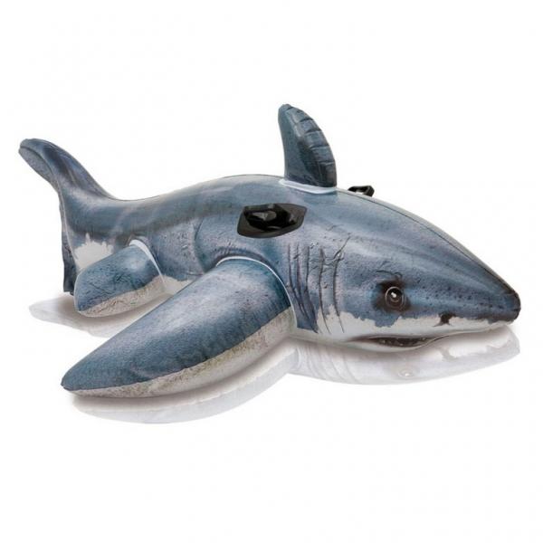 Intex nafukovacie hopsadlo žralok, 173 x 107 cm