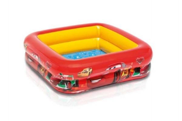 Bazén nafukovacie Cars 85x85x23 cm od 1-3 rokov