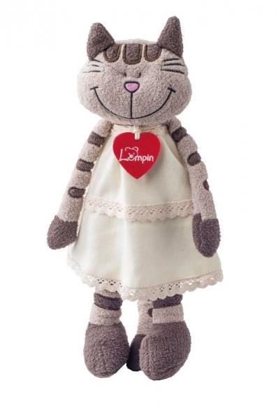 Lumpin Plyšová hračka - Mačka Andželika v sukni