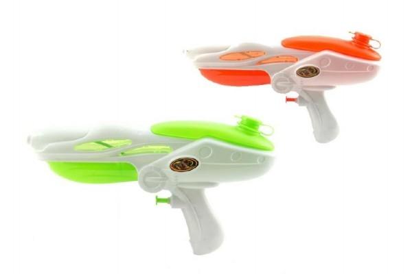 Teddies Vodné pištole plast 27cm asst 4 farby v sáčku
