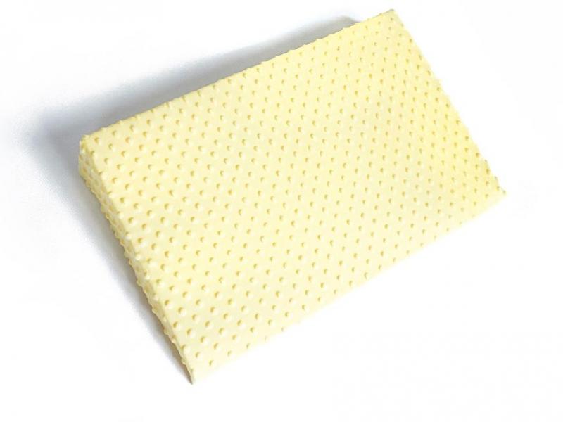 Zvýšená poloha - Klin, Baby Nellys, Minky krémová/žltá