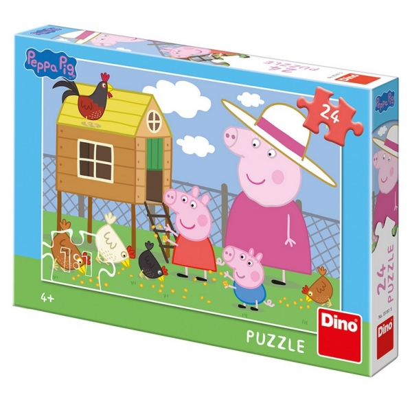Rappa Puzzle 24 Prasiatko Peppa