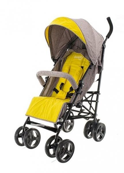 Euro Baby Športový kočík SMART - žltý, K19